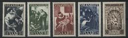 SARRE / SARR N° 263 à 267 Cote 130 € Neufs ** (MNH) .TB - Unused Stamps