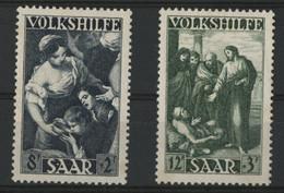 SARRE / SARR N° 263 + 264 Neufs Sans Gomme (*) MNG. - Unused Stamps