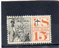 ETATS-UNIS   15 C   1961   Y&T : 59   Poste Aérienne   Oblitéré - 2a. 1941-1960 Gebraucht