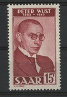 SARRE / SARR N° 268 Neufs * (MH) Cote 7 € TB. - Unused Stamps