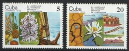 CUBA - Flore, Fleurs - Y&T N° 2532-2537 + 2383-2384 - MNH - 1982-1984 - Neufs