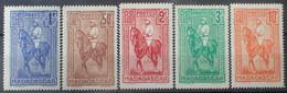 R2452/273 - 1931 - COLONIES FR. - MADAGASCAR - SERIE COMPLETE - N°183 à 187 NEUFS* - Unused Stamps