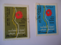 SYRIA  USED   STAMPS   YOUTH FESTIVAL - Siria