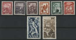 SARRE / SARR N° 255 à 262 Neufs ** (MNH) Cote 65 € TB. - Unused Stamps