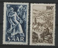 SARRE / SARR N° 261 à 262 Neufs * (MH) Cote 34 € TB. - Unused Stamps