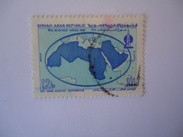 SYRIA  USED   STAMPS    MAPS - Siria