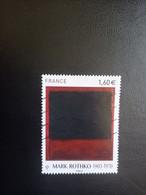 Mark Rothko - YT 5030 - 2016 - Oblitérés
