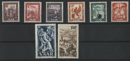 SARRE / SARR N° 255 à 262 Neufs ** (MNH) Cote 95 € TB. - Unused Stamps