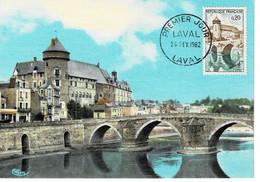 CM FRANCE 1962 LAVAL - 1960-69