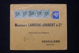 ALGÉRIE - Enveloppe Commerciale De Oran Pour  Angoulême En 1927 - L 90832 - Lettres & Documents