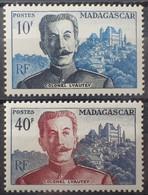 R2452/278 - 1954 - COLONIES FR. - MADAGASCAR - SERIE COMPLETE - N°325 à 326 NEUFS* - Unused Stamps