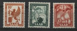 SARRE / SARR N° 258 à 260 Neufs ** (MNH) Cote 39,70 € TB. - Unused Stamps