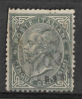 Italy 1863 Novara/Piemonte 20 Numerale/Numeral Postmark. 5C. Vittorio Emanuelle II. Mi 16/Sc 26. - Used