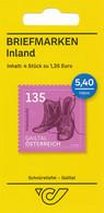 Österreich 2020 Markenheft Mi. 3522 Schnürstiefel Gailtal   (4 X Briefmarken) - 2011-... Nuevos & Fijasellos