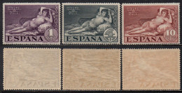 ESPAGNE - GOYA / 1930 Y&T # 423/425 ** MNH / COTE > 20.00 EUROS (ref T1768) - Ungebraucht