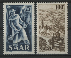 SARRE / SARR N° 261 + 262 Neufs ** (MNH) Cote 49 € TB. - Unused Stamps