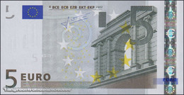TWN - SLOVAKIA (E.U.) 8E - 5 Euro 2002 (2009) Prefix E - E010A4 - Signature: Trichet UNC - Slovakia