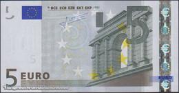 TWN - SLOVAKIA (E.U.) 8E - 5 Euro 2002 (2009) Prefix E - E010A5 - Signature: Trichet UNC - Slovakia