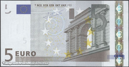 TWN - SLOVAKIA (E.U.) 8E - 5 Euro 2002 (2009) Prefix E - E010H5 - Signature: Trichet UNC - Slovakia