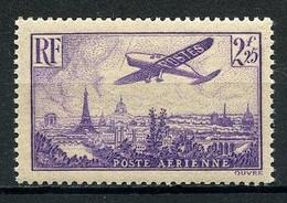 FRANCE PA 1936 N° 10 ** Neuf MNH Superbe C 40 € Avion Survolant Paris Aviation Transports Tour Eiffel - 1927-1959 Neufs