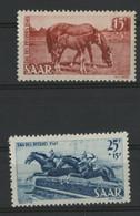 SARRE / SARR N° 253 + 254 Neuf * (MH) Cote 32 € TB. - Unused Stamps