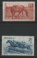 SARRE / SARR N° 253 + 254 Neufs Sans Gomme (*) MNG - Unused Stamps