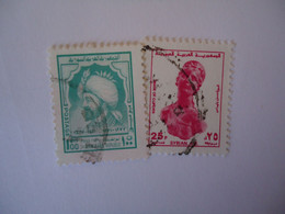 SYRIA  USED   STAMPS   MONUMENTS - Siria