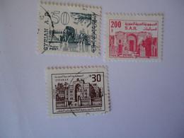 SYRIA  USED   STAMPS      LANDSCAPES - Siria