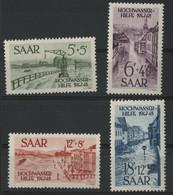 SARRE / SARR N° 244 à 247 Neufs ** (MNH) Cote 35 €. TB - Unused Stamps