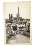 Cpa - 71 - AUTUN - Cathédrale - Travaux échafaudage - N°8 Edit Tabac De La Gare - Autun