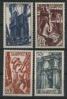 SARRE / SARR N° 240 à 243 Neufs ** (MNH) Cote 40,5 €. TB - Unused Stamps