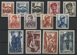 SARRE / SARR N° 231 à 243 Neufs ** (MNH) Cote 55 €. TB - Unused Stamps