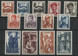SARRE / SARR N° 231 à 243 Neufs * (MH) Cote 35 €. TB - Unused Stamps