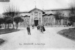 BESANCON -  La Gare Viotte. N° 875 - Circulée En 1910. Bon état - Besancon