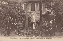 BESANCON - Cours Ménager Sagesse - Notre-Dame De La Sagesse. Edition CLB. Circulée En 1937. Bon état. - Besancon