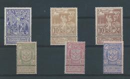 N°68/70** ET 71/73** - 1894-1896 Expositions