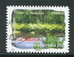 FRANCE- Adhésifs Y&T N°308- Oblitéré - Adhésifs (autocollants)