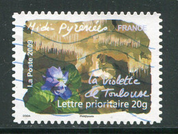 FRANCE- Adhésifs Y&T N°312- Oblitéré - Adhésifs (autocollants)
