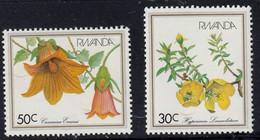 RWANDA - Fleurs - Y&T N° 1047-1054 - MNH - 1982 - 1980-89: Neufs