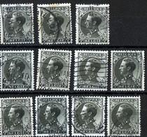 Belgique Belgie 1934 1936 Leopold III 70c 11ex  + N°403 1fr - 1934-1935 Léopold III