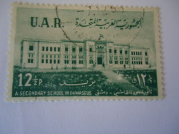 SYRIA U.A.R . USED    STAMPS  MONUMENTS - Siria
