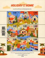 New Zealand - 2021 - Holiday At Home - Mint Stamp Sheetlet - Ongebruikt