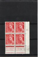 FRANCE   1938-41  Coin Daté  Y.T. N° 412  NEUF** - 1930-1939