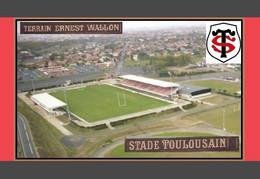 CP. STADE.  TOULOUSE  FRANCE TERRAI ERNEST WALLON   # D.M. 053 - Calcio