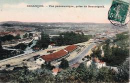 """BESANCON -  Edition """"GLOBE, Couleurs"""" - Vue Panoramique, Prise De Beauregard. Circulée En 1907. Bon état. - Besancon"""