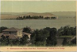 TURQUIE CONSTANTINOPLE.Etablissement Des Frères à KADI KEUI - Turquia