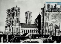 CM FRANCE 1960 CATHEDRALE DE LAON - 1960-69