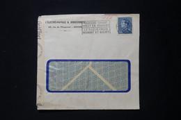 BELGIQUE - Enveloppe Commerciale De Anvers En 1943 Avec Contrôle Postal  - L 90864 - Cartas
