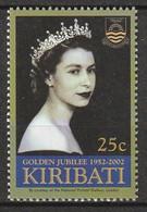 KIRIBATI - N°504 ** (2002) Elizabeth II - Kiribati (1979-...)