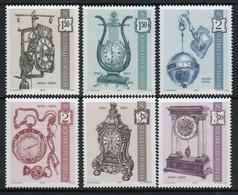 Austria 1970 Set Of Stamps To Celebrate Antique Clocks - 1961-70 Nuevos & Fijasellos